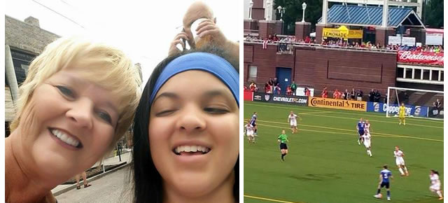 Erin, Mom and Soccer